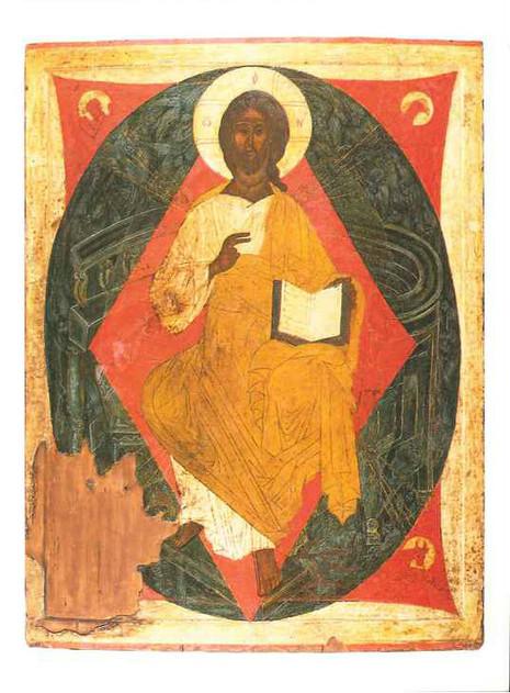 Christ Pantocrator (Russian, XV c.) [M]