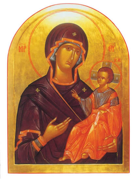 PK-N3 Iconographic Note Cards: Virgin and Child