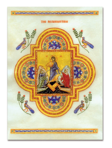 Paschal Greeting Cards: The Resurrection Illumination
