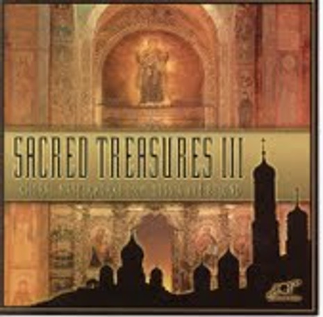 Sacred Treasures III: Choral Masterworks from Russia (CD)