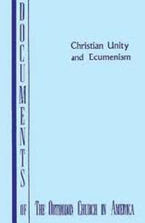 Christian Unity and Ecumenism