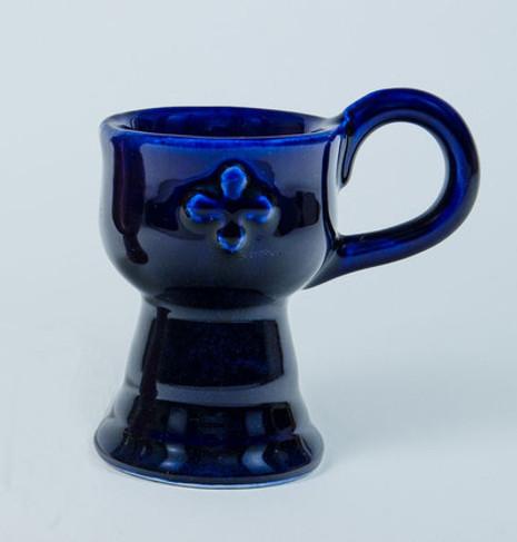 Censer - Stoneware, Blue