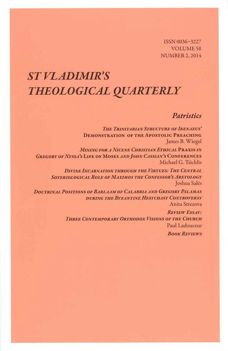St. Vladimir's Theological Quarterly, Vol. 58, no. 2