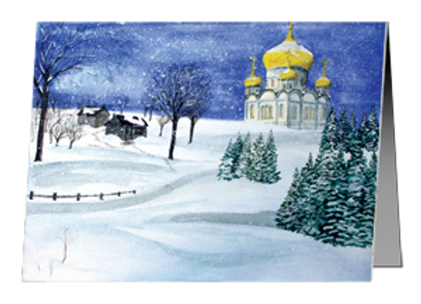 Christmas Cards - Russian Winter