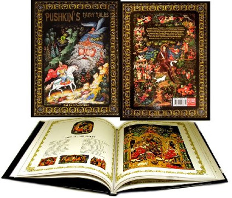 Pushkin's Fairy Tales from Palekh Artists