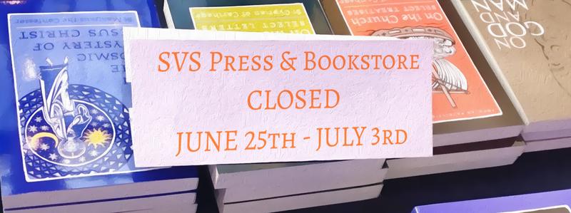 SVS Press & Bookstore Closed