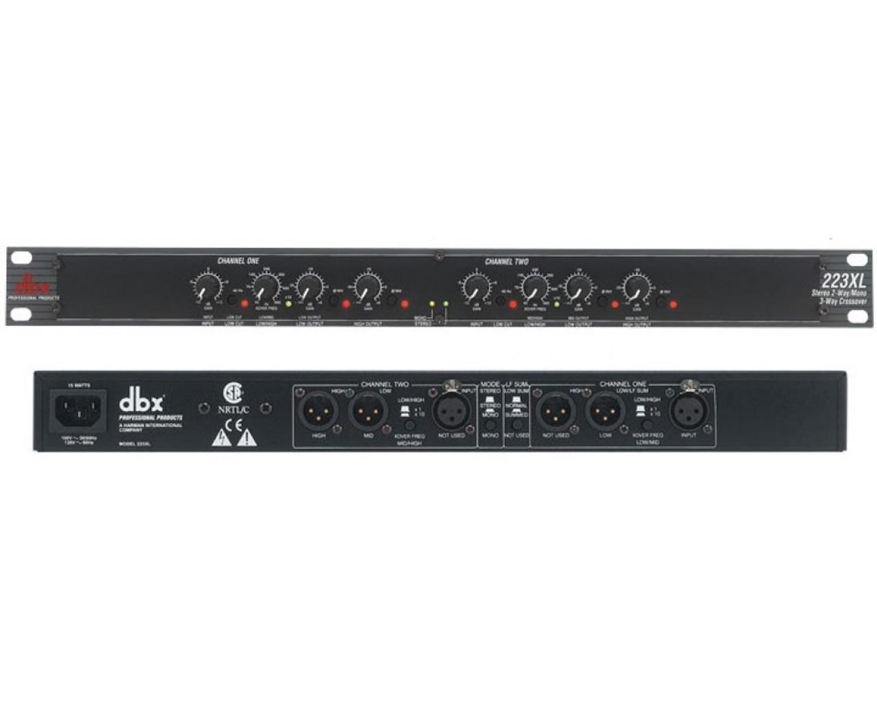 dbx 223xl Hook up Philips Surround Sound Hook up