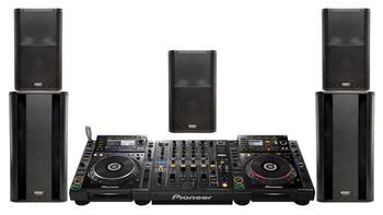 RENTAL DJ & Sound Event Pack #1