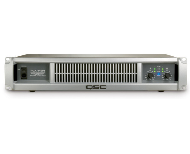 QSC PLX-1104 - PLX2 Series Stereo Power Amplifier