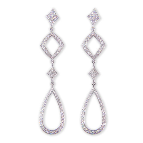 0.61ct tw Diamond Drop Earrings