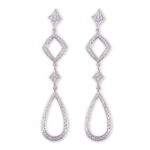0.61ct tw Diamond Drop Earrings