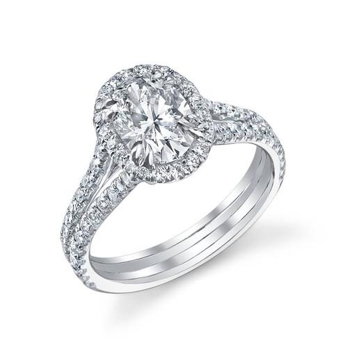 Diane's Tiara Ladies Oval Cut Diamond Ring - CDS0049