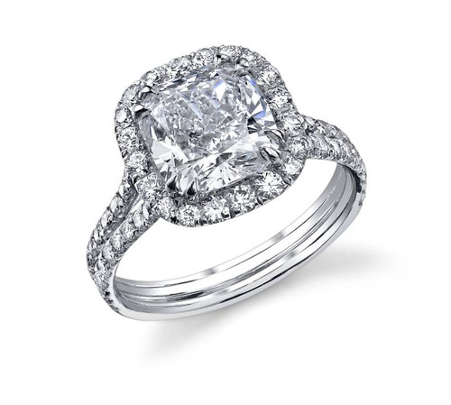 Diane's Tiara Ladies Cushion Cut Diamond Ring - CDS0053