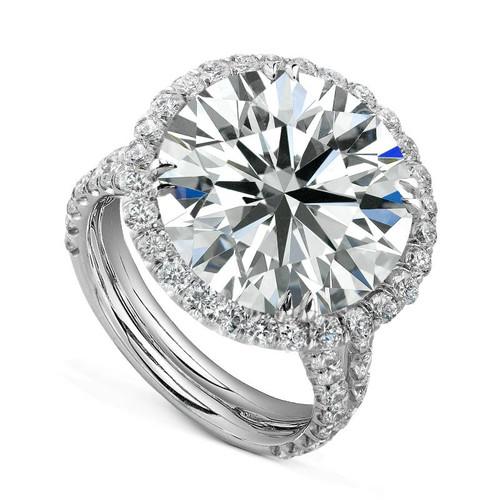 Diane's Tiara Ladies Round Brilliant Diamond Ring - CDS0059