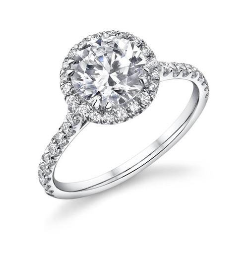 Diane's Tiara Ladies Round Brilliant Diamond Ring - CDS0075