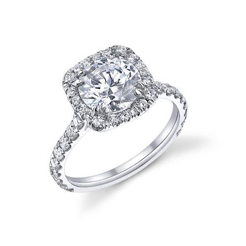 Diane's Tiara Ladies Round Brilliant Diamond Ring - CDS0078