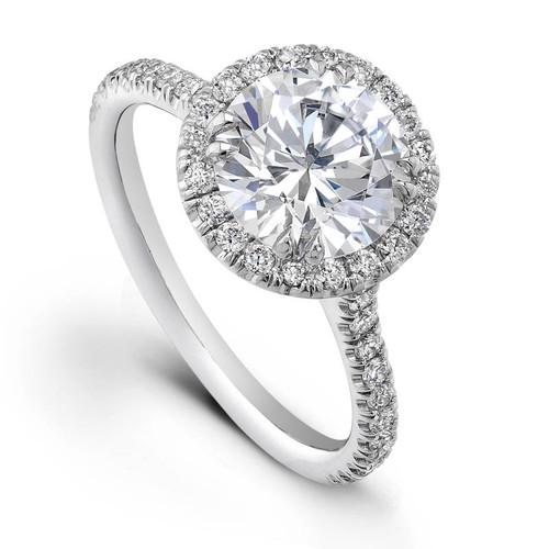 Diane's Tiara Ladies Round Brilliant Diamond Ring - CDS0079