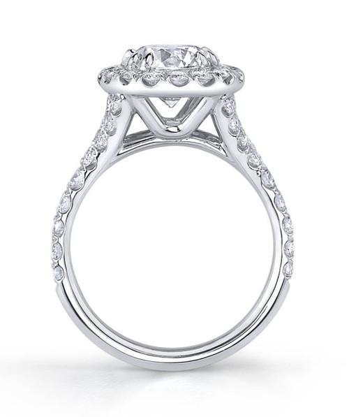 Diane's Tiara Ladies Round Brilliant Diamond Ring - CDS0082