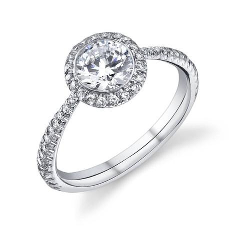 Luseen A. Round Brilliant Diamond Ring - CDS0086