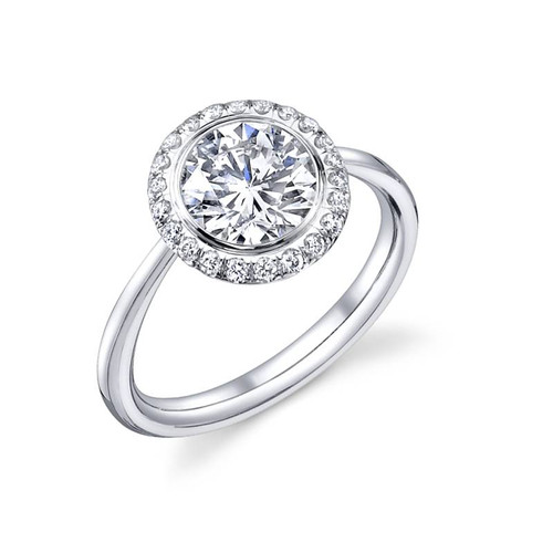 Luseen A. Round Brilliant Diamond Ring - CDS0088