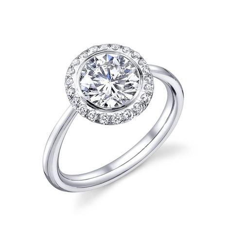 Luseen A. Round Brilliant Diamond Ring - CDS0088