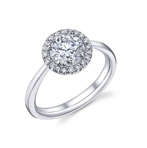 Luseen A. Round Brilliant Diamond Ring - CDS0089