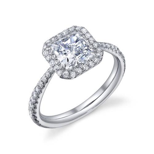 Luseen A. Princess Cut Diamond Ring - CDS0091