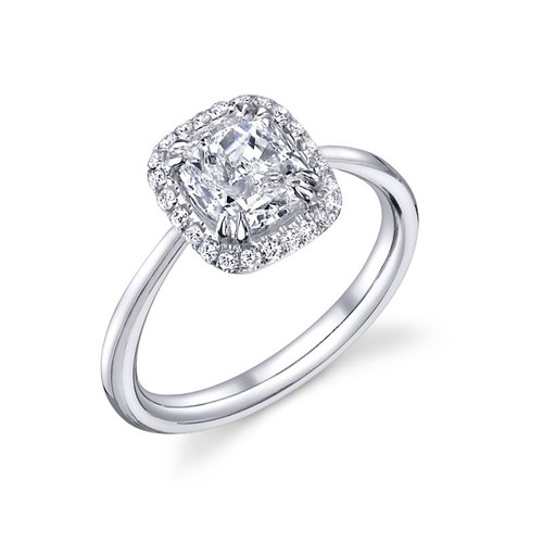 Luseen A. Cushion Cut Diamond Ring - CDS0092