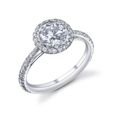 Luseen A. Round Brilliant Diamond Ring - CDS0093