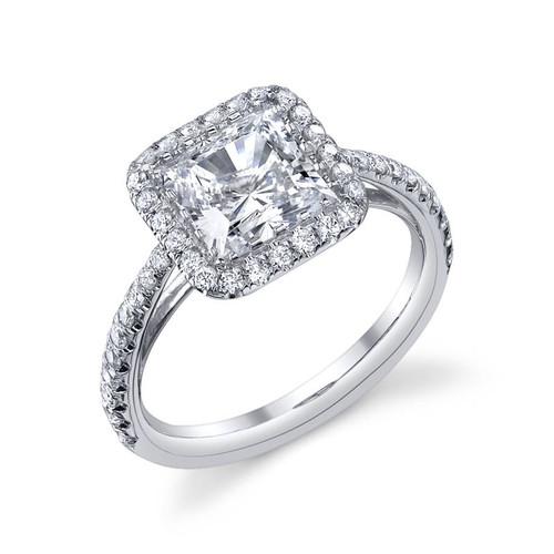 Luseen A. Princess Cut Diamond Ring - CDS0094