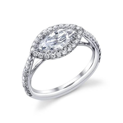 Luseen A. Marquise Cut Diamond Ring - CDS0095