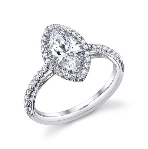 Luseen A. Marquise Cut Diamond Ring - CDS0096
