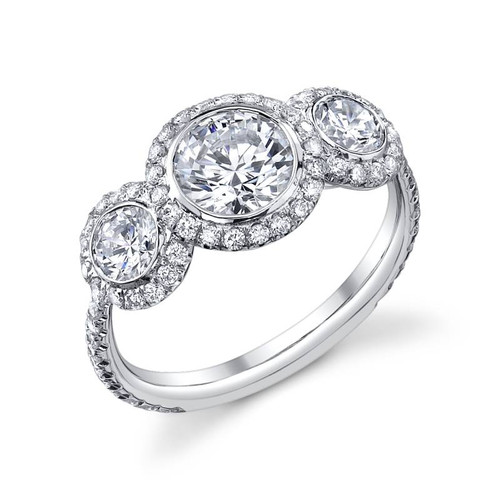 Luseen A. Round Brilliant Diamond Ring - CDS0097
