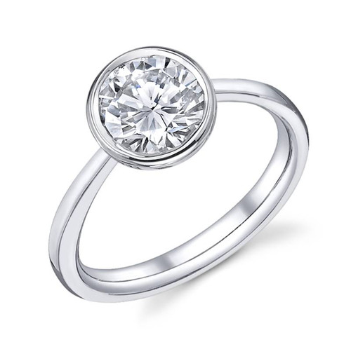Luseen A. Round Brilliant Diamond Ring - CDS0102