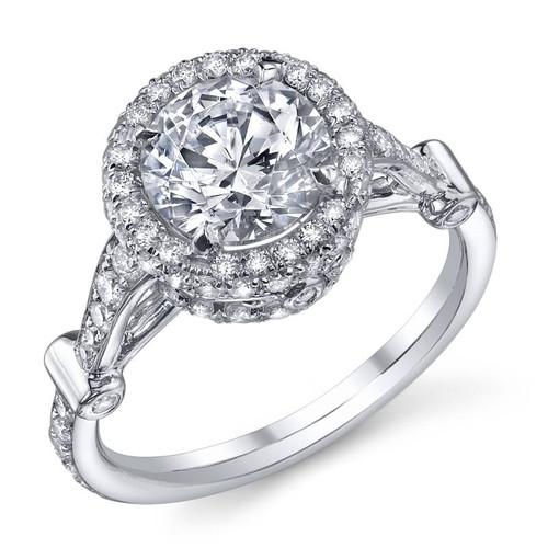 Papion Collection Round Brilliant Diamond Ring - CDS0103