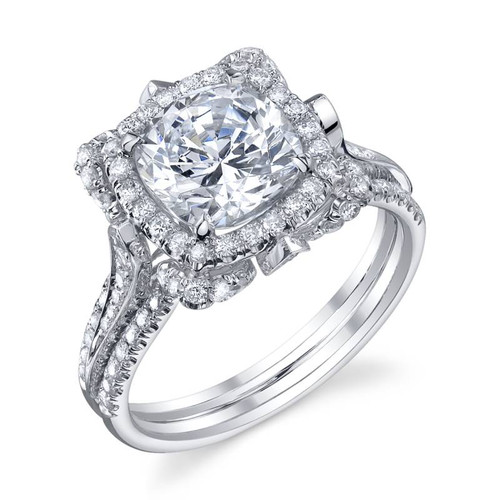 Papion Collection Round Brilliant Diamond Ring - CDS0104