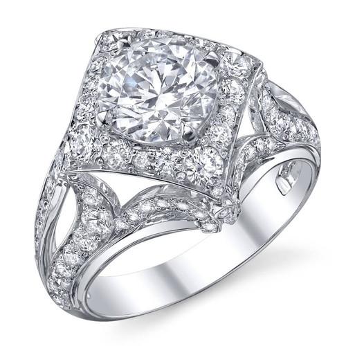 Papion Collection Round Brilliant Diamond Ring - CDS0106