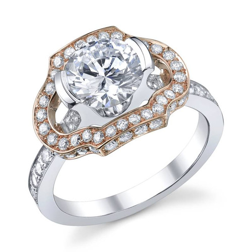 Papion Collection Round Brilliant Diamond Ring - CDS0109