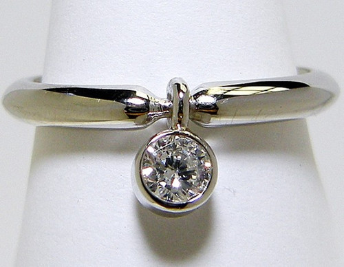 Swing Top Solitaire Engagement Ring - CDG0193