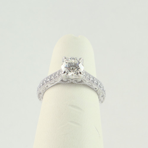 1.01ct Round Antique Ring