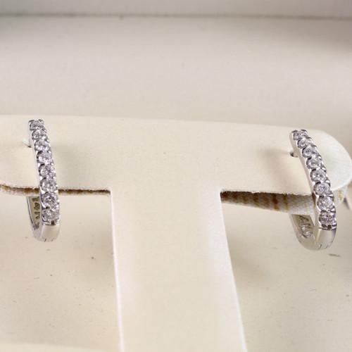 0.50ct tw Small Huggie Earrings