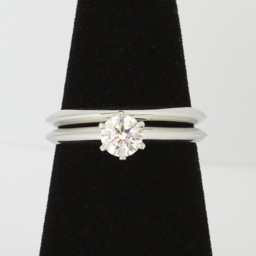 0.43ct Round Solitaire Engagement Ring & Band