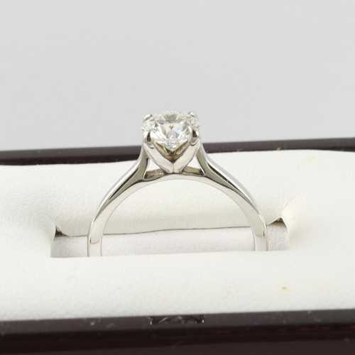 1.01ct White Gold Solitaire Engagement Ring