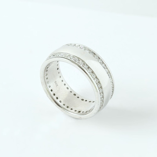 1.36ct tw Unisex Wedding Band