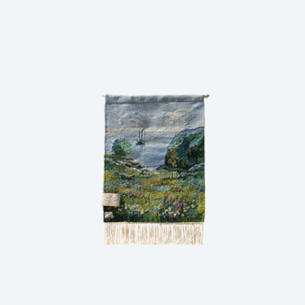 Hand Woven Tapestry Boat By Caspersson Mothers Commerce Company, India