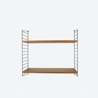 Vintage Nils Nisse  Style String System Wall Ladder Shelf STRING Design 1960 Sweden