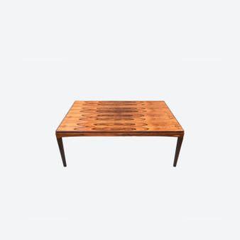 Large Ikea Coffee Table Designed By Erik Wørts 1970, Sweden, Walnut