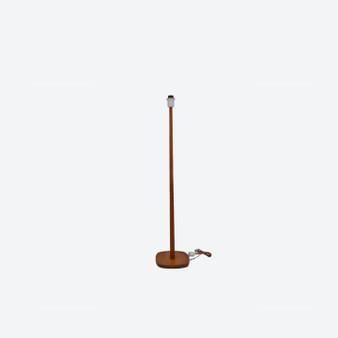 Vintage Teak Floor Lamp by AB Stilarmatur Tranås 1950s