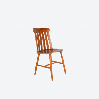 Vintage Design Teak Dining Chair By Jan Hallberg 1960s For Ab Tallasen