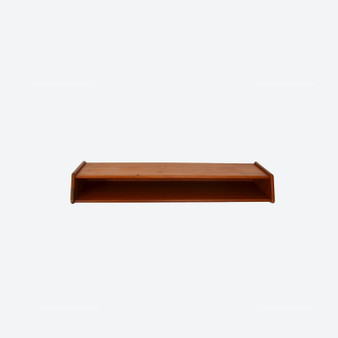 Vintage Wall-mounted Teak Shelf by Aksel Kjersgaard in Odder, Denmark 1950s